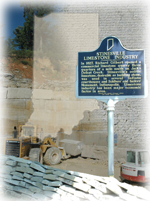 Big Creek Limestone - About Indiana Limestone - The Nations Building Stone
